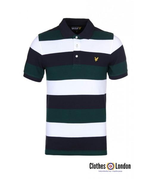 Koszulka Polo Lyle & Scott Rugby Zielona