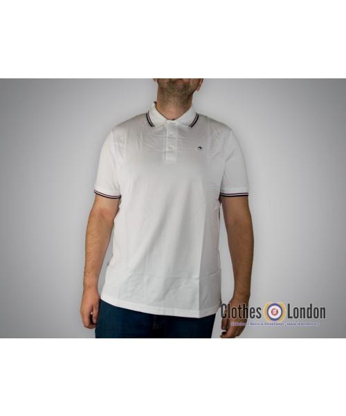 Koszulka Polo Merc London Card Biała
