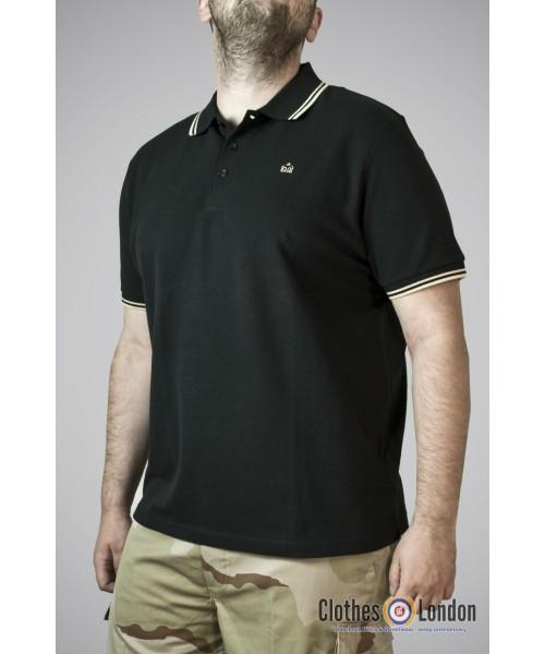 Koszulka Polo Merc London Card Czarno/Żółte
