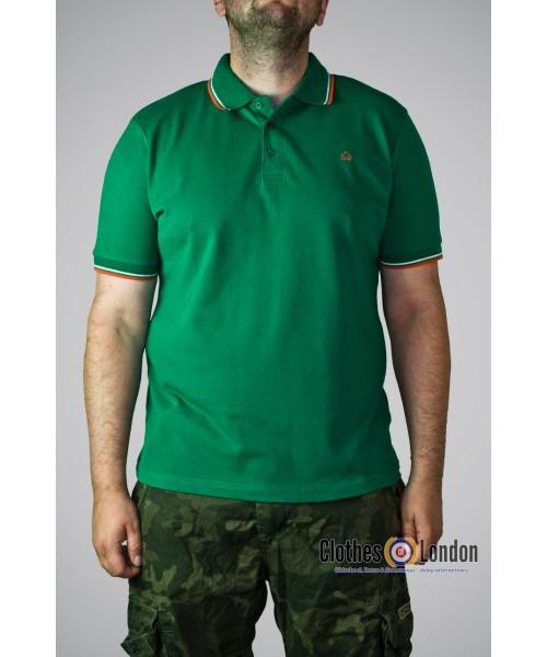 Koszulka Polo Merc London Card Zielone