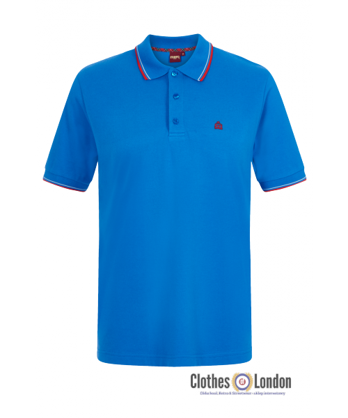 Koszulka Polo MERC LONDON CARD  new royal
