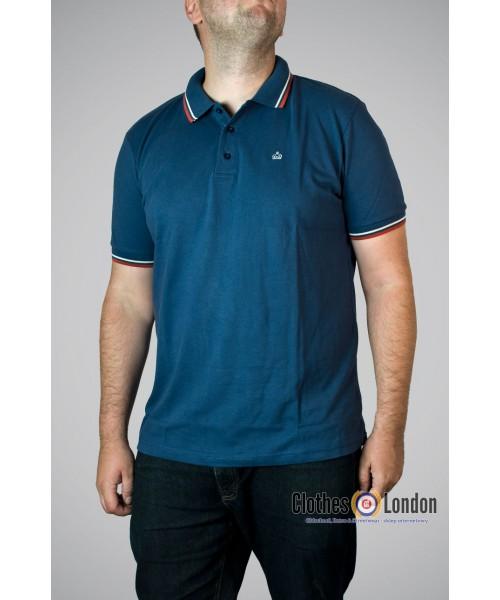 Koszulka Polo Merc London Card Granatowa