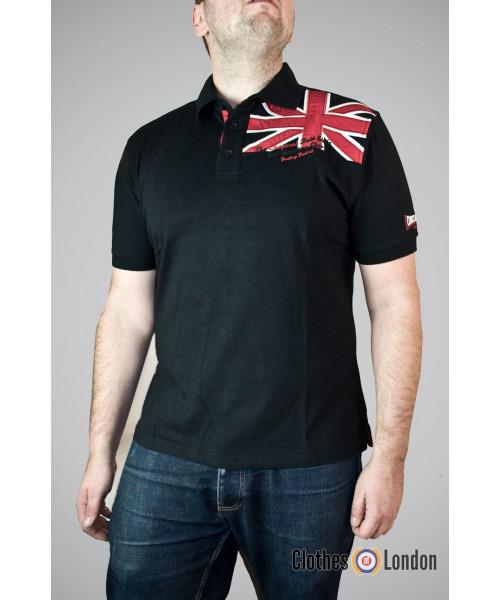 Koszulka Polo Lonsdale London Walderslade Czarna