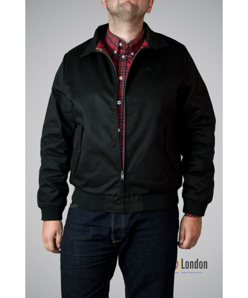 Kurtka Harringtonka Merc London Harrington Czarna