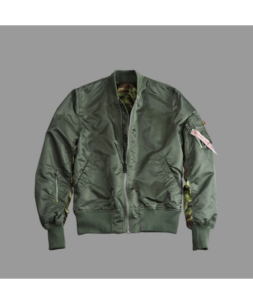 Kurtka ALPHA INDUSTRIES MA -1 REVERSIBLE CAMO oliwkowa