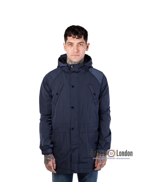 Parka WEEKEND OFFENDER WASHINGTON Granatowa