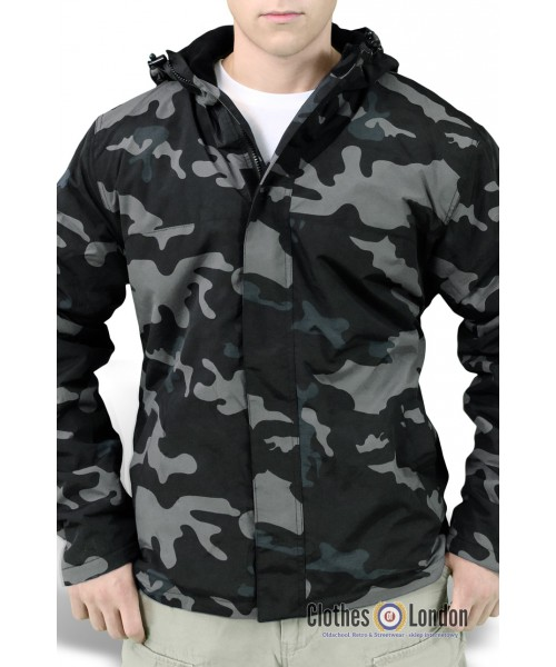Rozpinana kurtka Surplus Windbreaker Moro Nightcamo