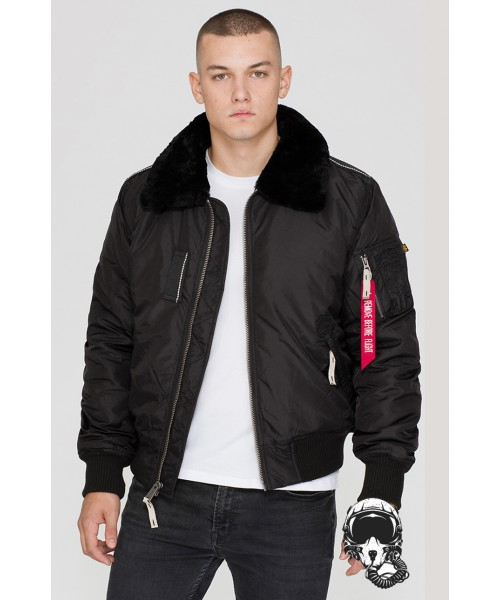 Kurtka ALPHA INDUSTRIES INJECTOR III czarna