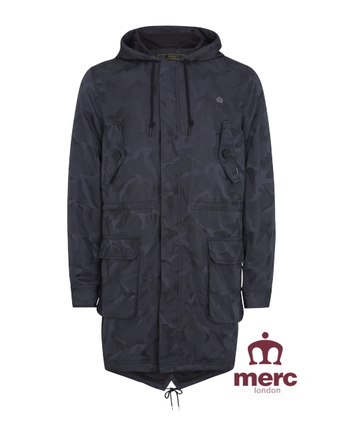 Letnia PARKA MERC LONDON FISHTAIL CHARLIE CAMO