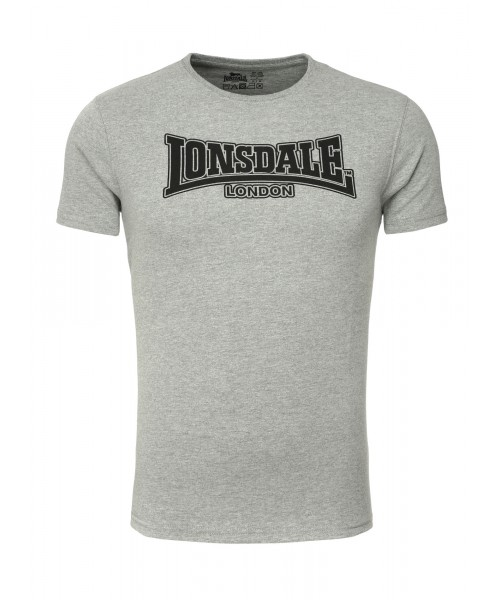 T-Shirt LONSDALE LONDON BELFORD szary