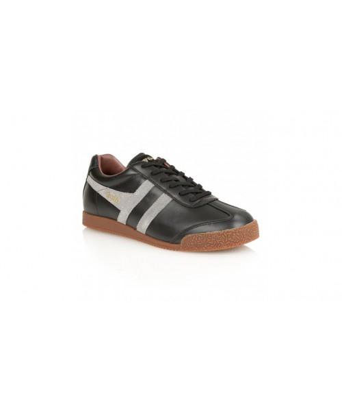 Skórzane buty GOLA HARRIER LEATHER czarno-szaro-brązowe