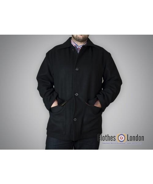 Płaszcz Warrior Clothing Donkey Jacket Czarny