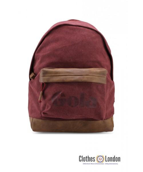 Plecak GOLA HARLOW CANVAS bordowo-brązowy