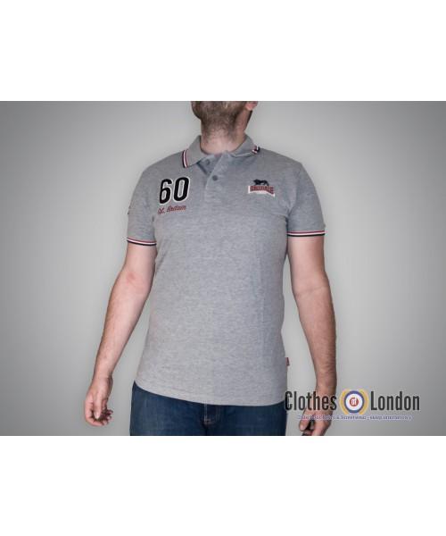 Koszulka Polo Lonsdale London Moss Szara
