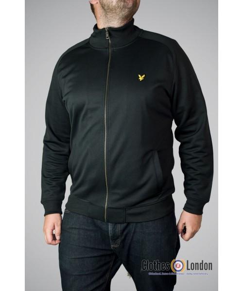 Rozpinana bluza Lyle & Scott Tricot Jacket czarna