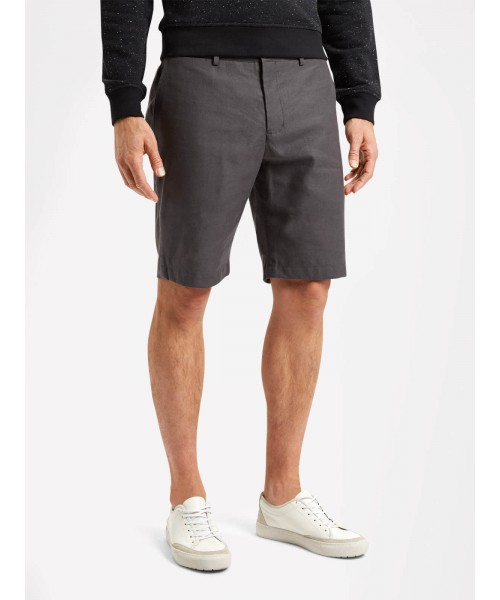 Szorty chino LYLE & SCOTT LINEN SHORT szare