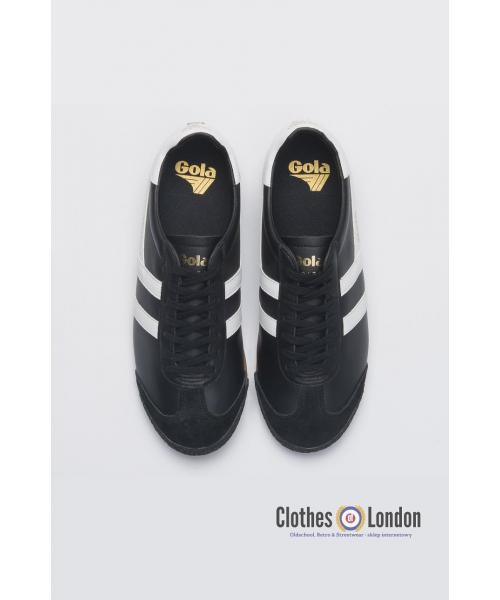 Skórzane buty GOLA HARRIER 50 LEATHER Czarno/Białe