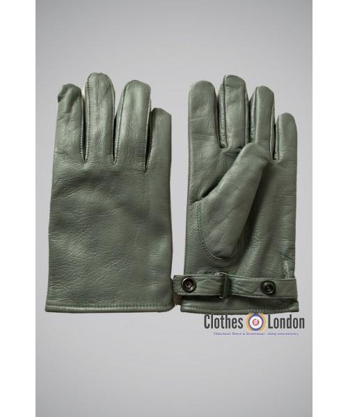 Rękawiczki skórzane Max Fuchs Szare