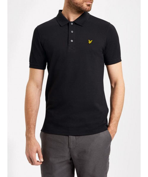 Koszulka Polo LYLE&SCOTT czarna