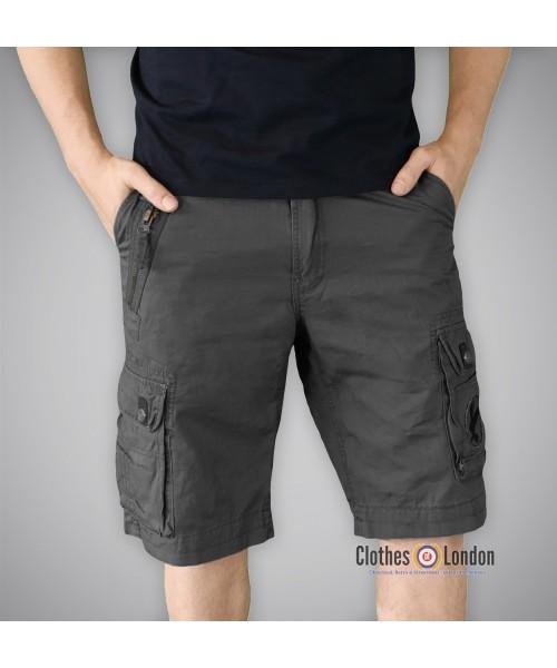 Szorty Bojówki Xylontum Shorts Czarne
