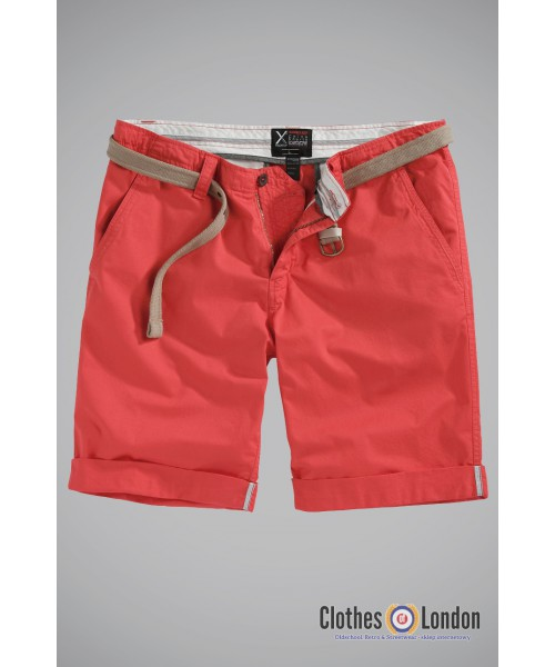 Szorty SURPLUS CHINO SHORTS czerwone