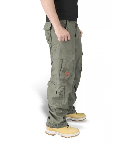Spodnie bojówki Surplus Airbone Vintage Trousers Oliwkowe