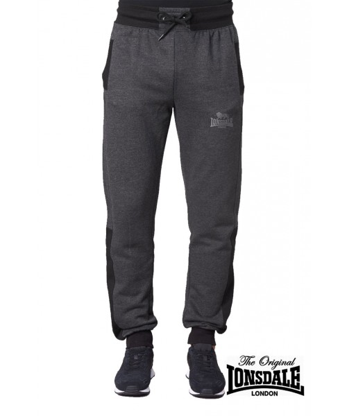 Spodnie dresowe LONSDALE LONDON HECKFIELD Ciemnoszare