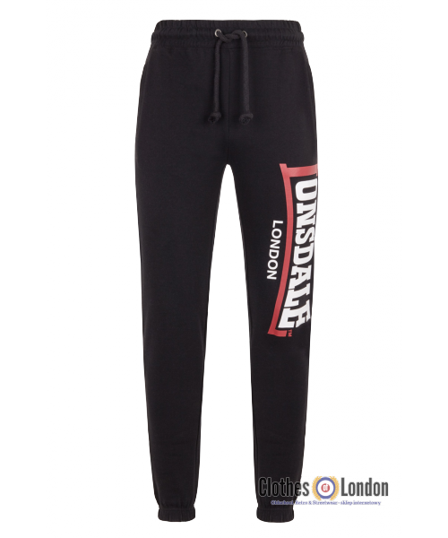 Spodnie dresowe LONSDALE LONDON STOCKENCHURCH Czarne