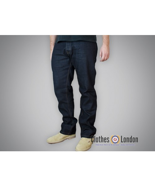 Spodnie dżinsowe Dickies Regular Michigan Rinsed Granatowe
