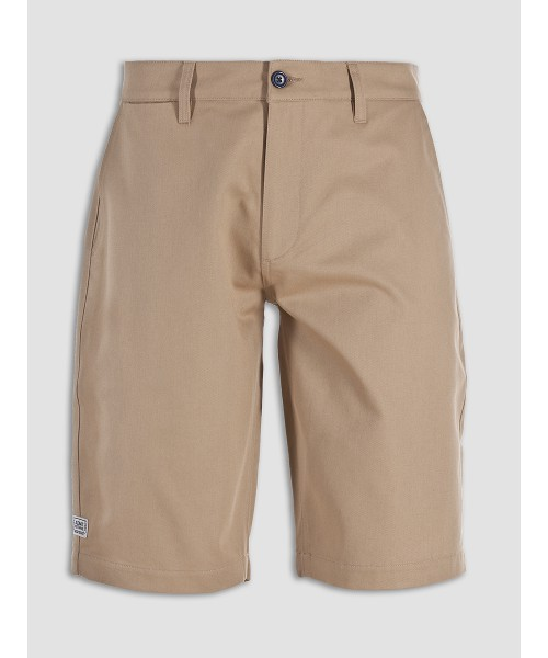 Szorty chino WEEKEND OFFENDER FAIRFIELD SS16 beżowe