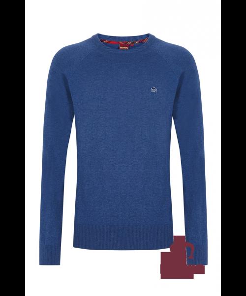 Sweter MERC LONDON BERTY niebieski