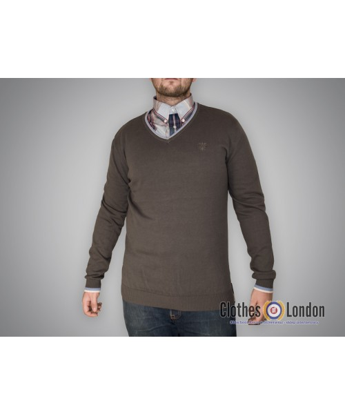 Sweter Warrior Clothing Basic Szary