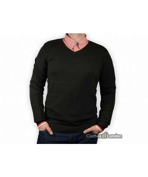 Sweter Warrior Clothing Basic Czarny