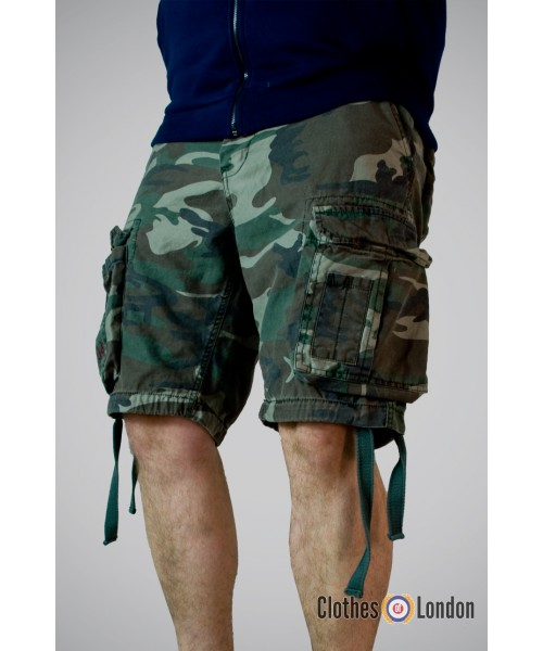 Szorty Airbone Vintage Shorts Surplus Moro