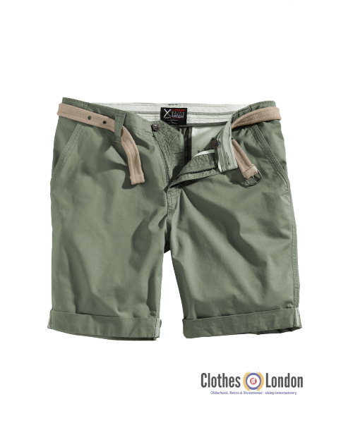 Szorty SURPLUS CHINO SHORTS Oliwkowe
