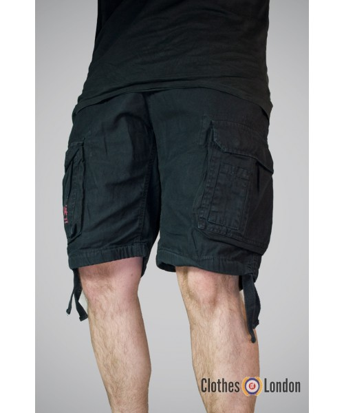 Szorty Surplus Airbone Vintage Shorts Czarne