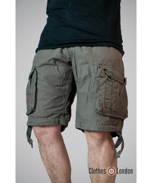 Szorty Surplus Airbone Vintage Shorts Oliwkowe