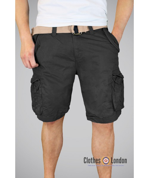 Szorty Xylontum Vintage Shorts Czarne