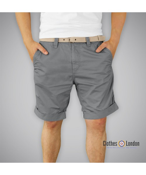 Szorty SURPLUS CHINO SHORTS Szare