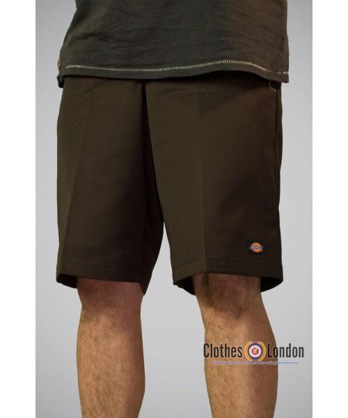 """Szorty Dickies 13"""" Multi Pocket work brązowe"""