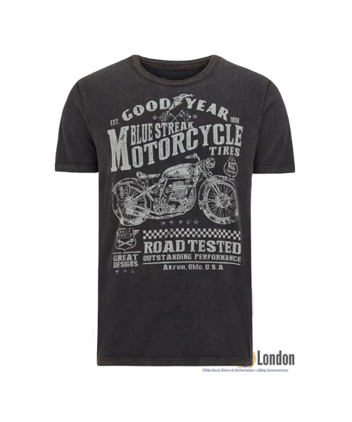T- Shirt GOODYEAR SHELBURNE czarny