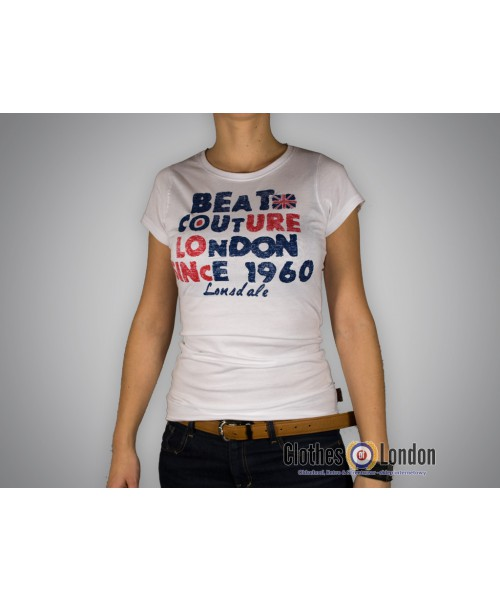 Damska koszulka Lonsdale London Addie Essence