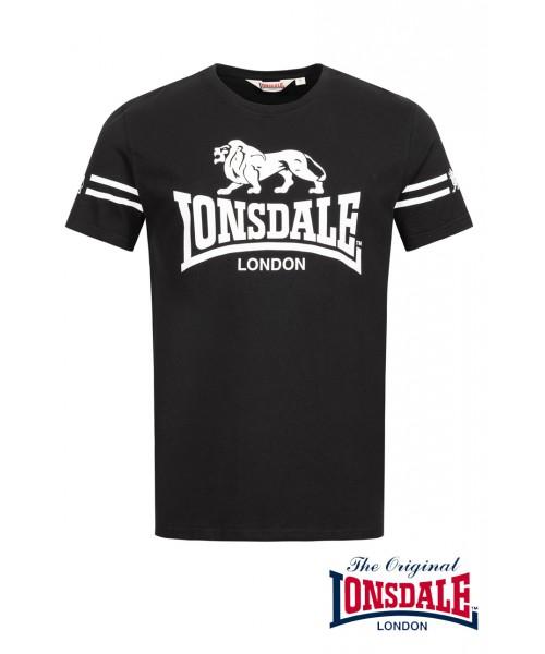 T-shirt LONSDALE LONDON ALDEBURGH Czarny