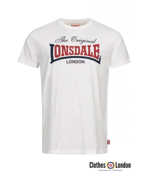 T-shirt LONSDALE LONDON ALDINGHAM Biała