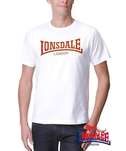 T-shirt LONSDALE LONDON CLASSIC Biała