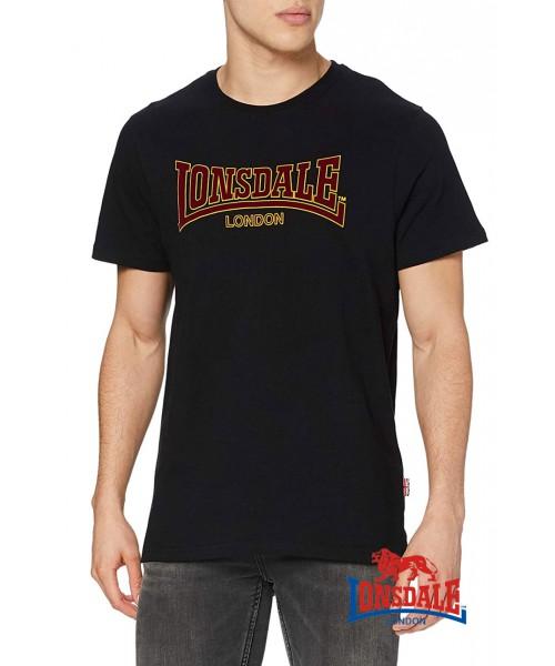 T-shirt LONSDALE LONDON CLASSIC Czarna
