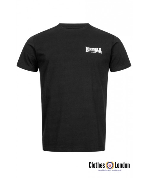 T-shirt LONSDALE LONDON ELMDON czarna