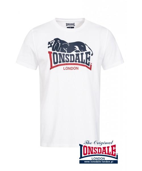 T-shirt LONSDALE LONDON HOPPERTON Biały