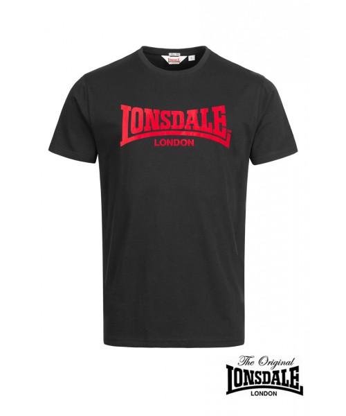 T-shirt LONSDALE LONDON ONE TONE Czarna