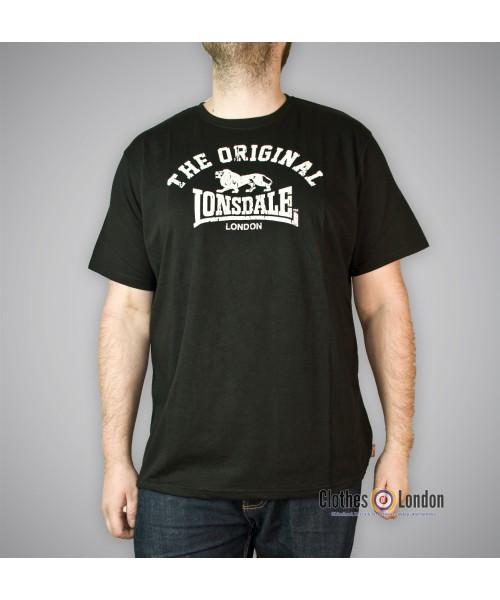 T-shirt Lonsdale London ORIGINAL Czarny